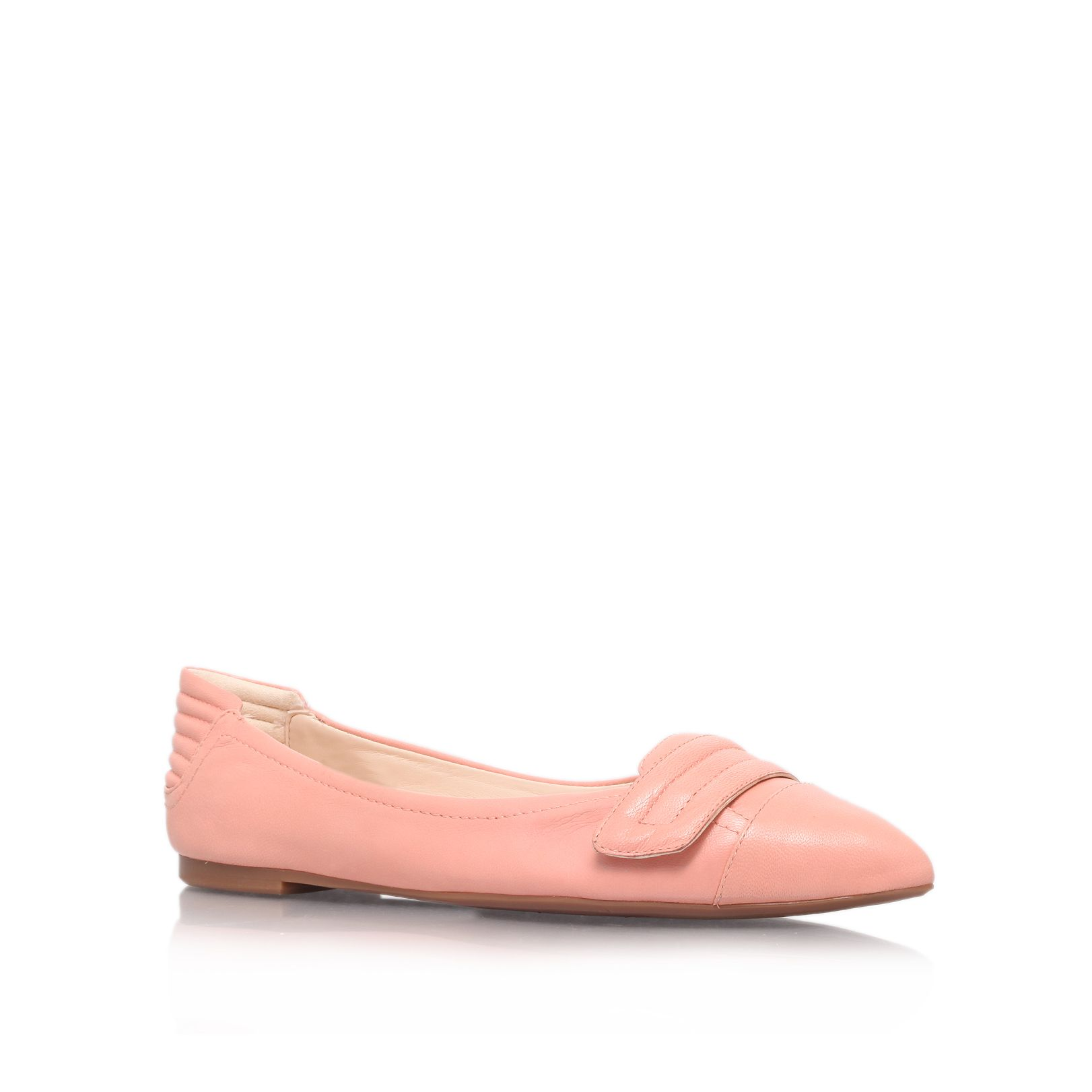 Saramarie flat court shoe
