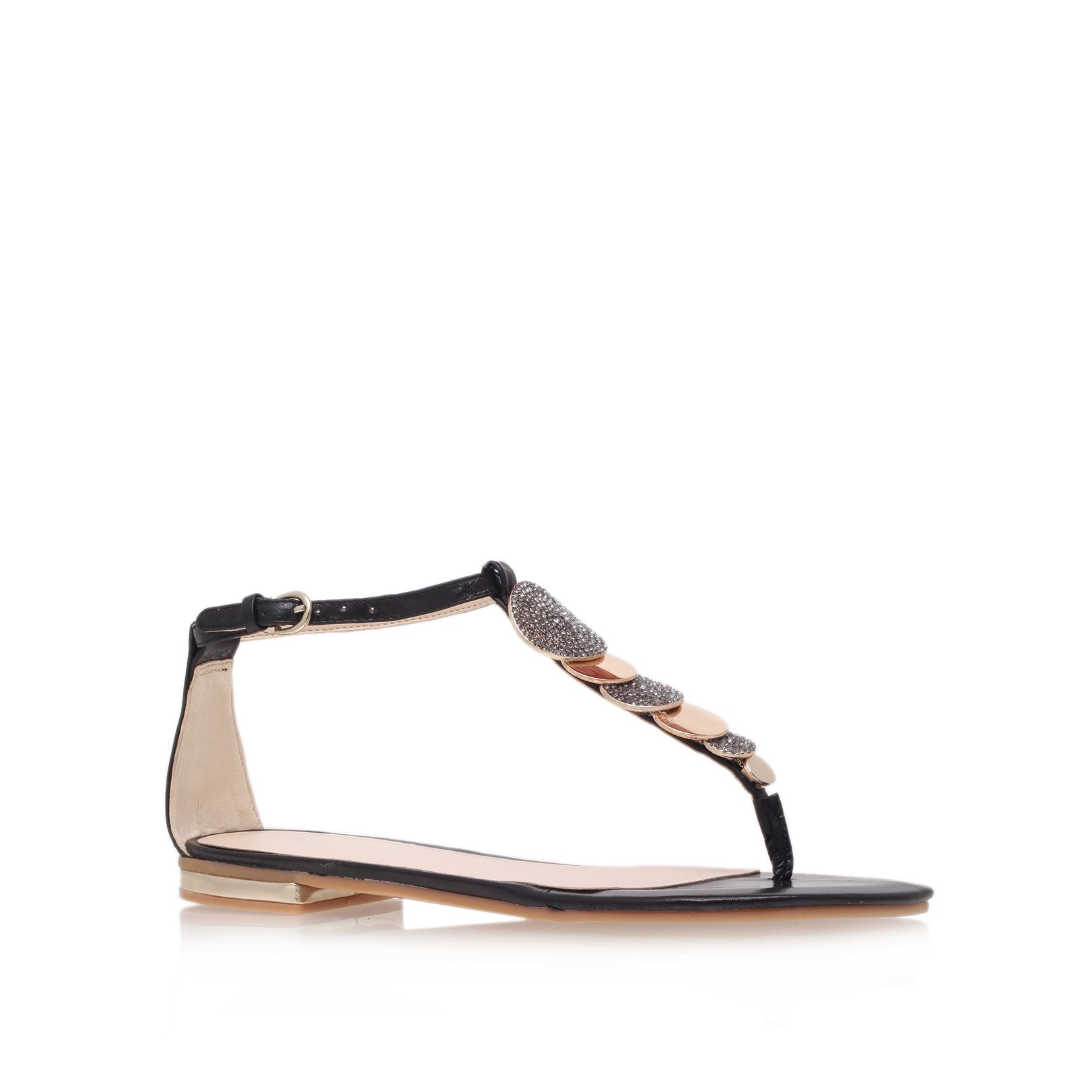 Zacharia flat t-bar sandals