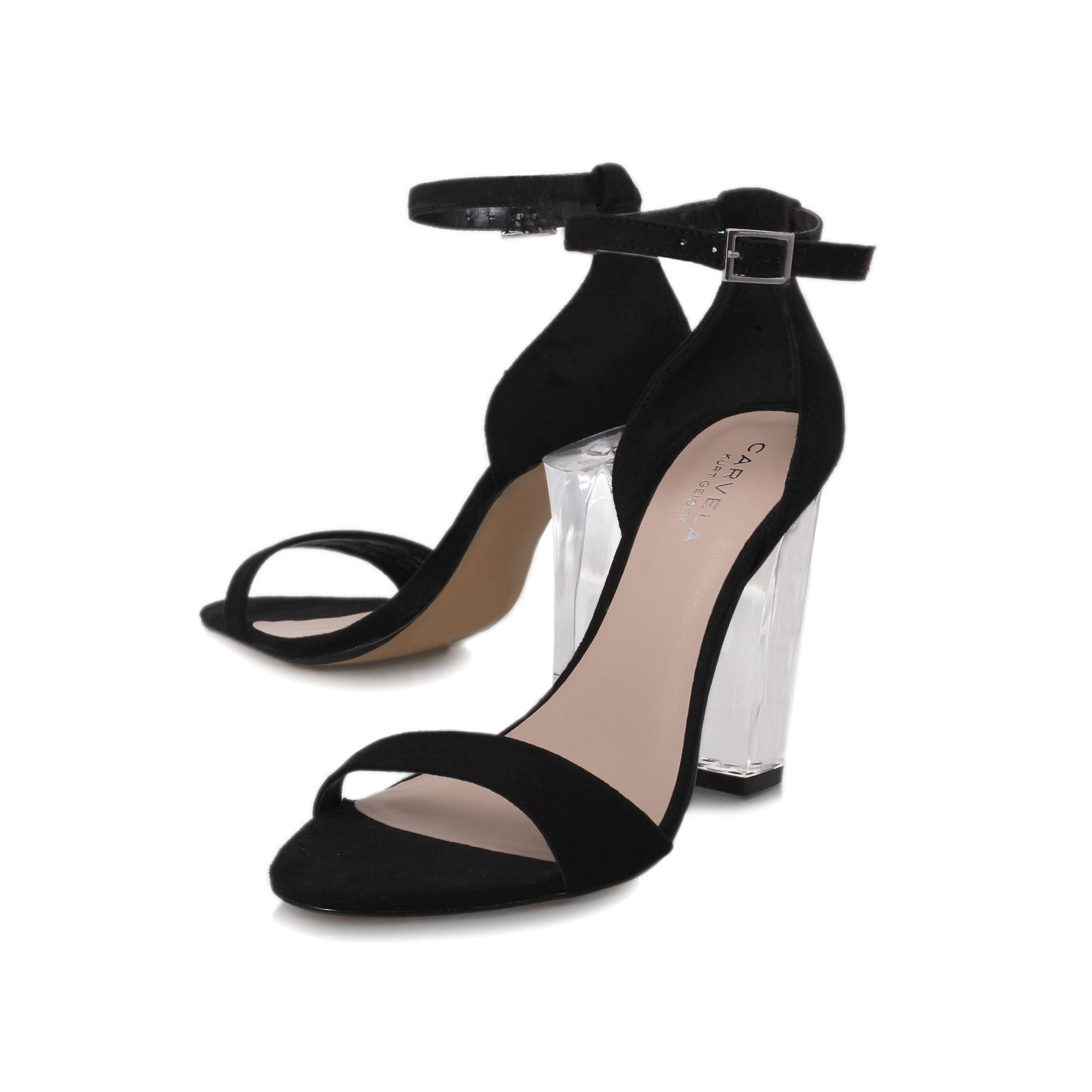 Gravity high heel sandals