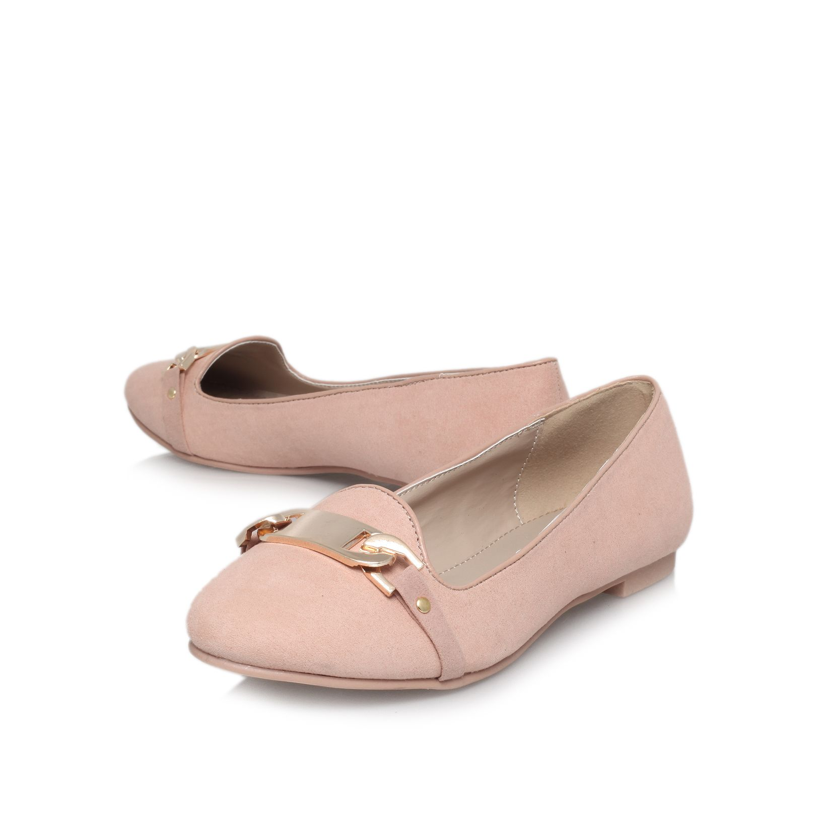 Lull flat court shoes