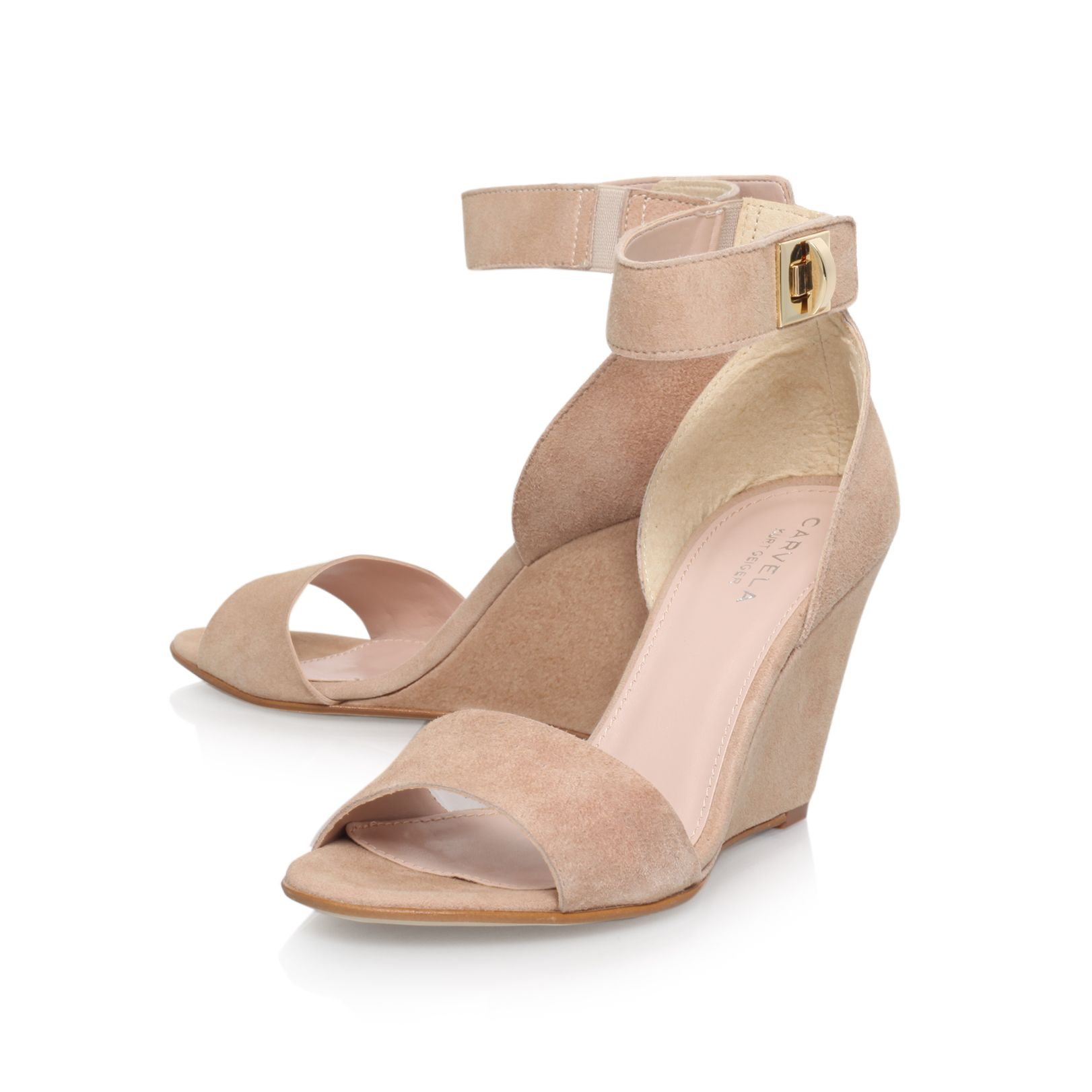 Kulprit high heel wedge sandals