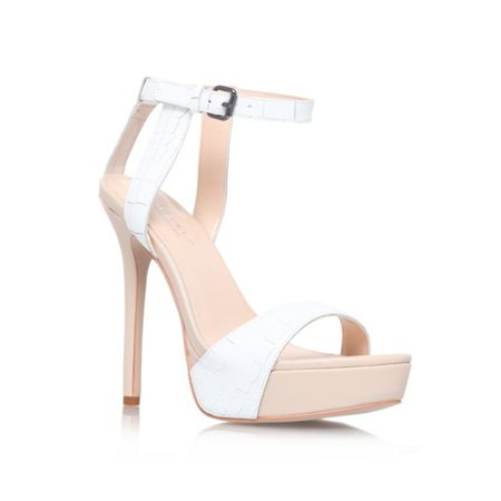 Gown high heel strappy sandals