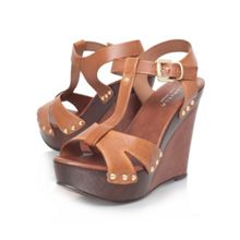 Carvela Katey high heel wedge sandals