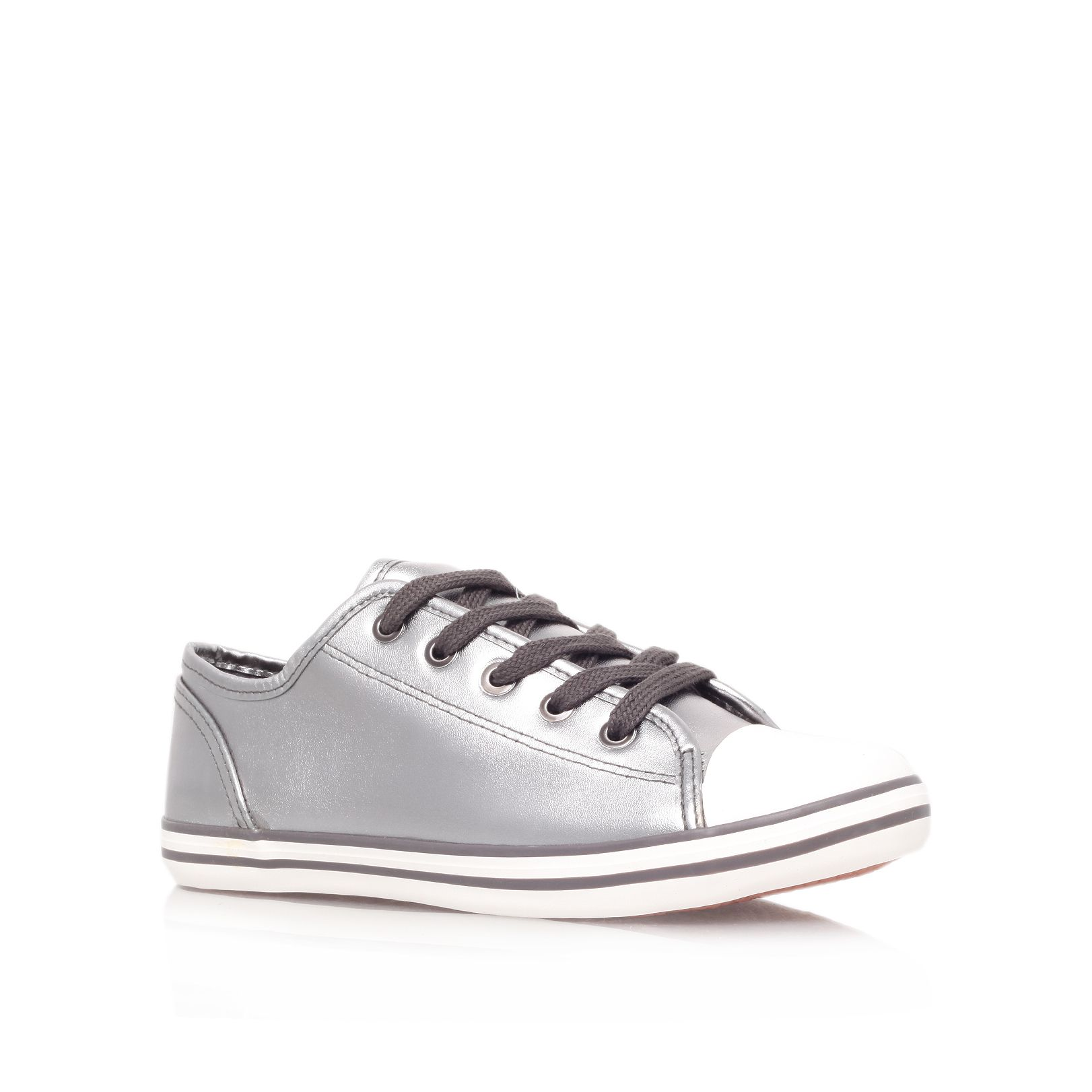 Leni flat low top trainers