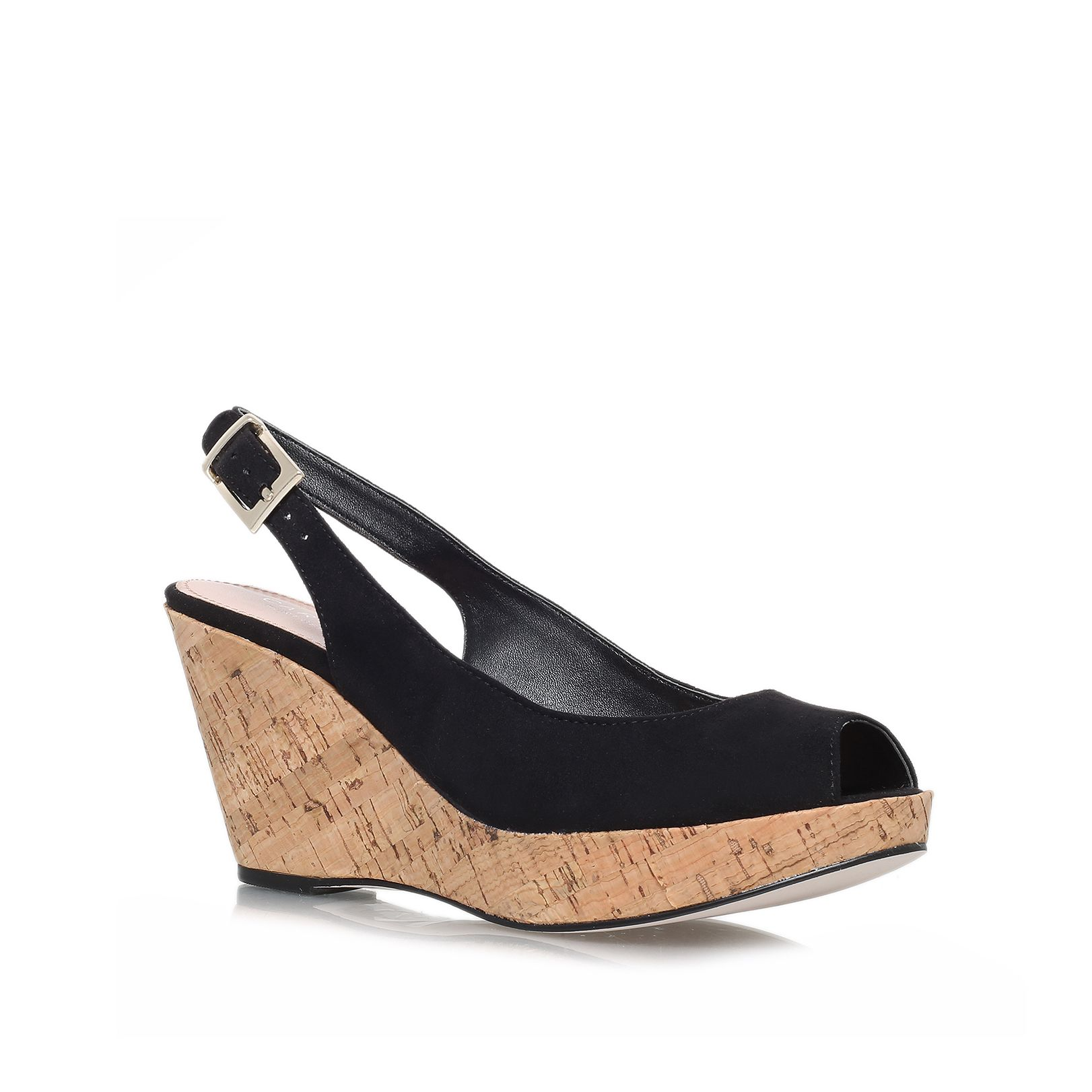 Klix high heel wedge sandals