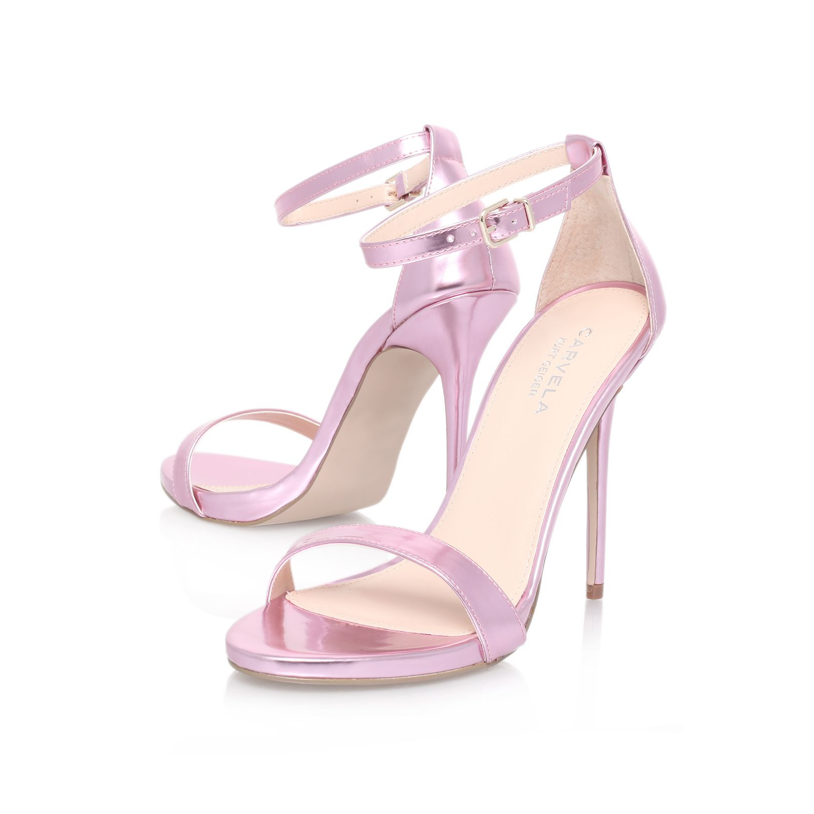 Glacier high heel sandals