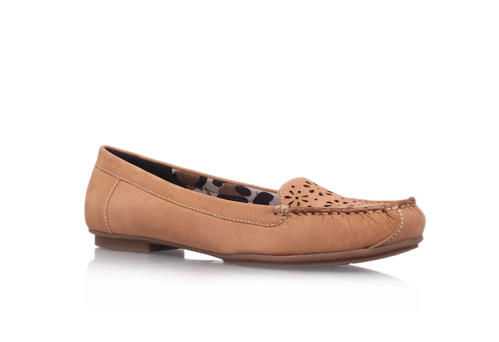 Dwyer flat court shoes