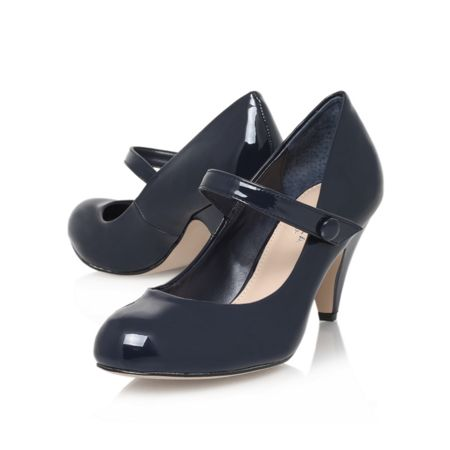 Carvela Kollar mid heel court shoes