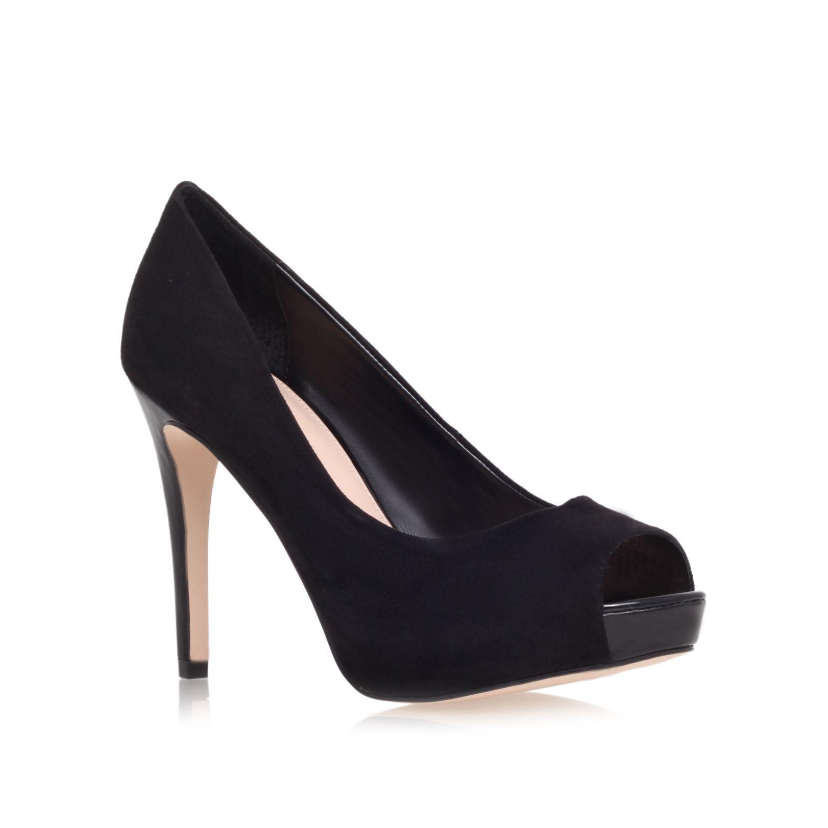 Lara high heel court shoes