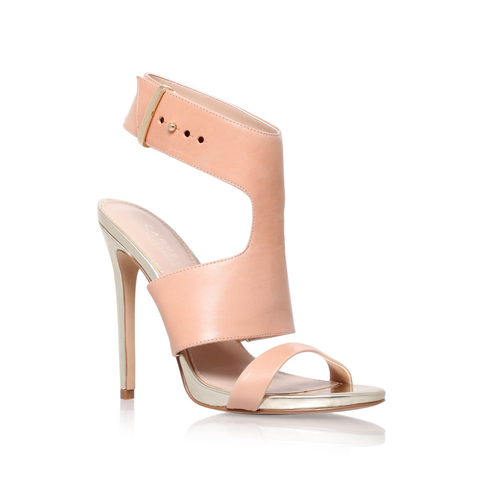Group high heel sandals