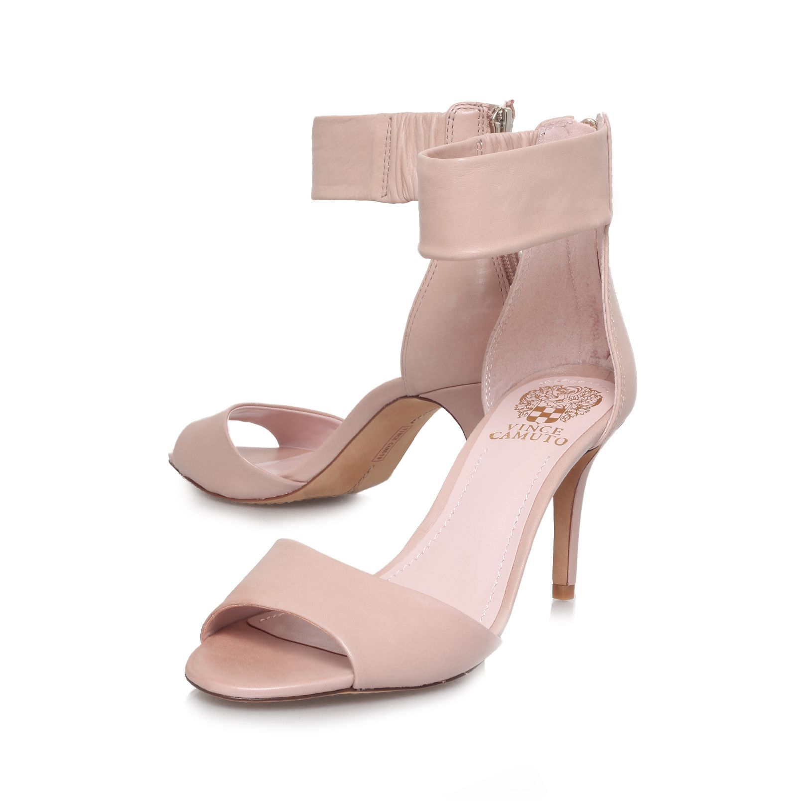 Noris mid heel sandals