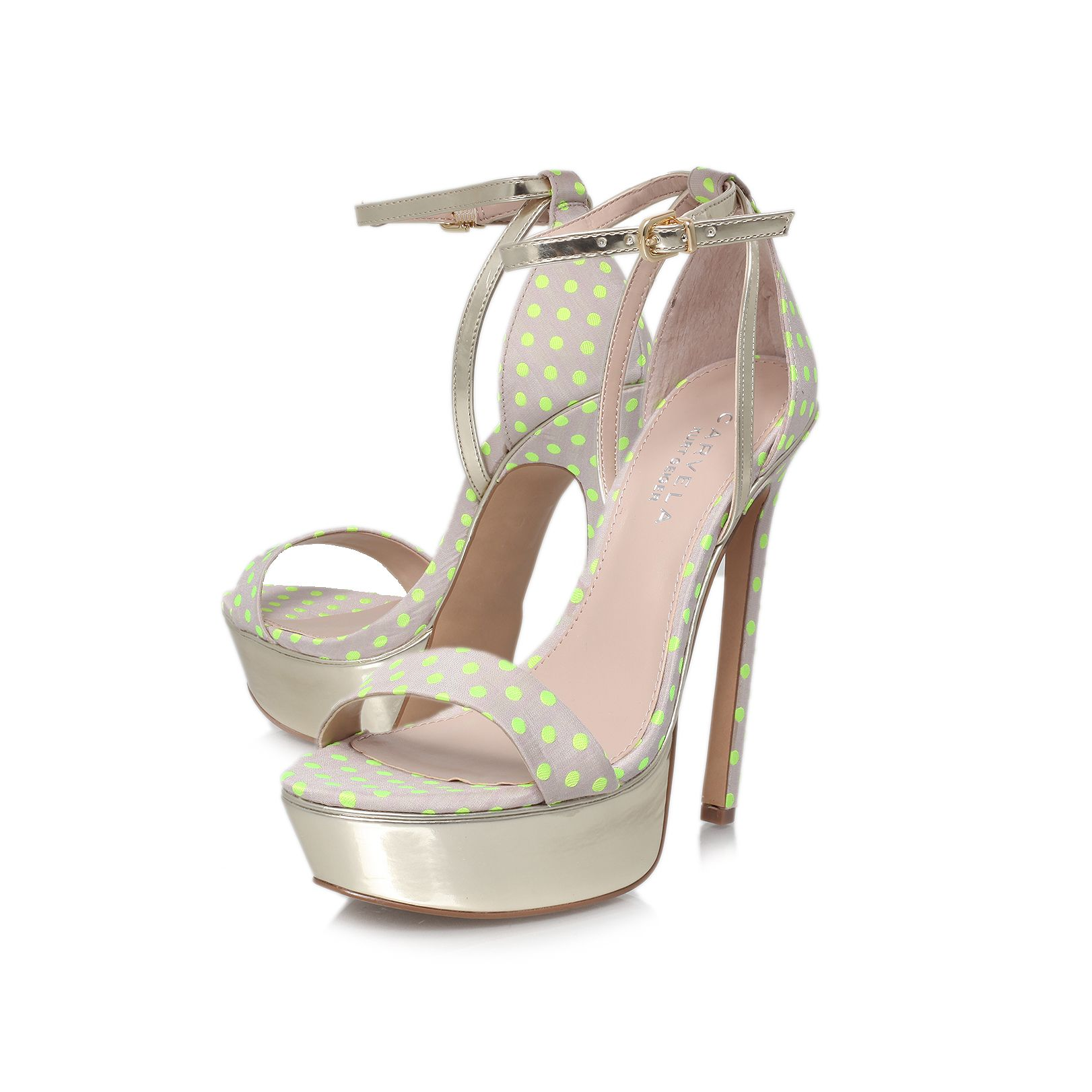 Graph high heel ocassion shoes