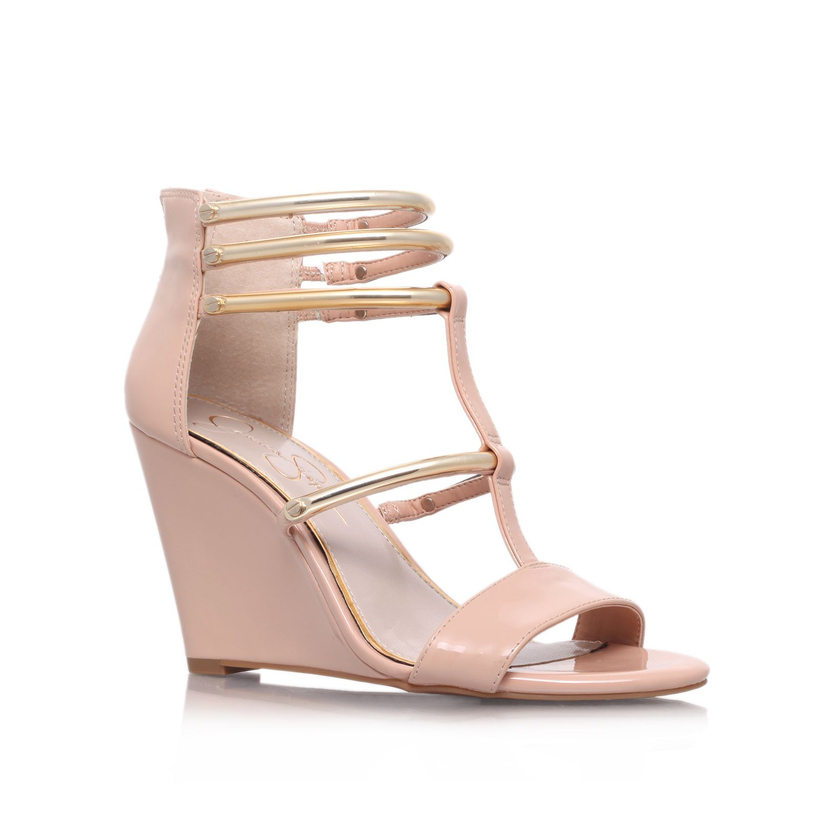 Marnea mid heel wedge sandals