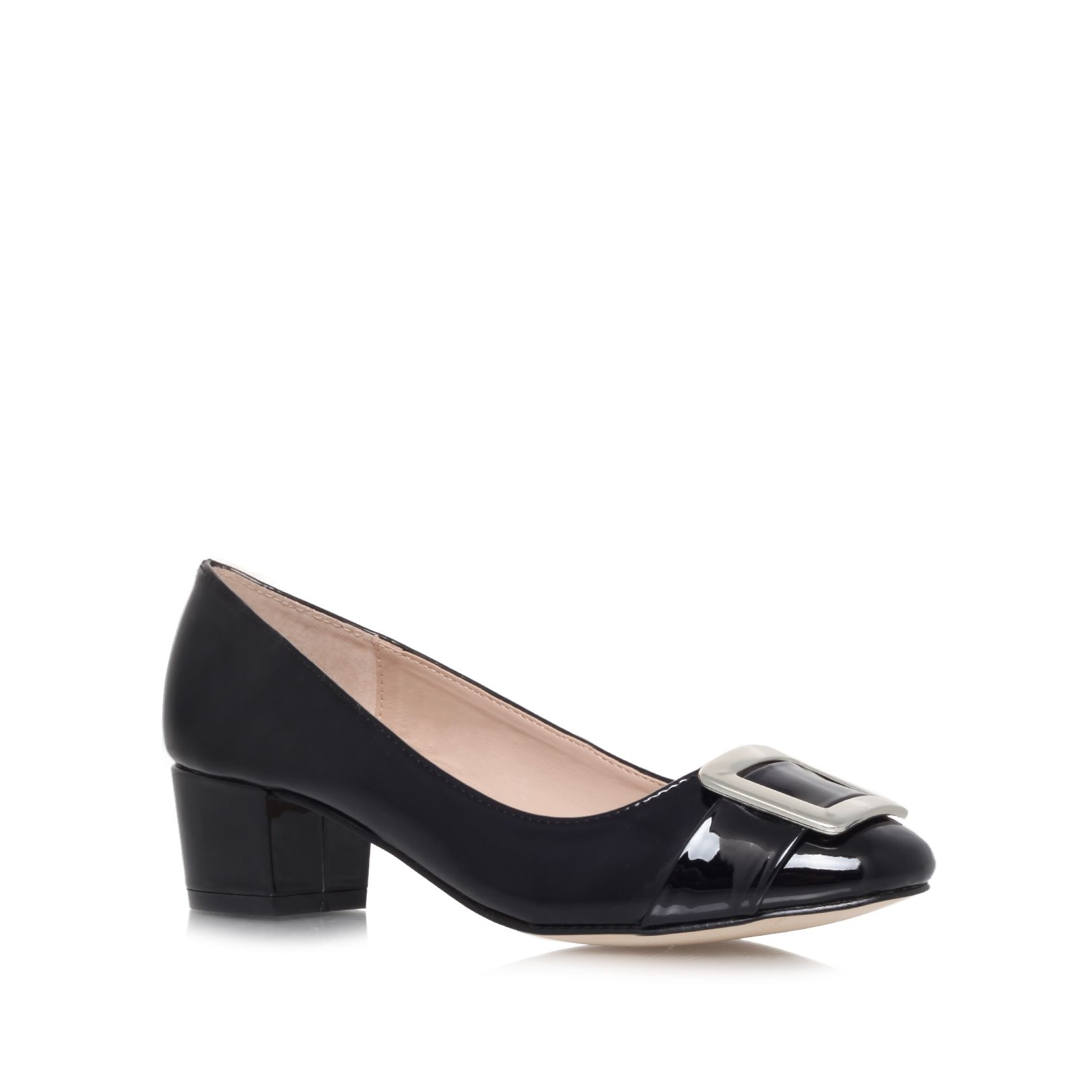 Kiki low heel court shoes