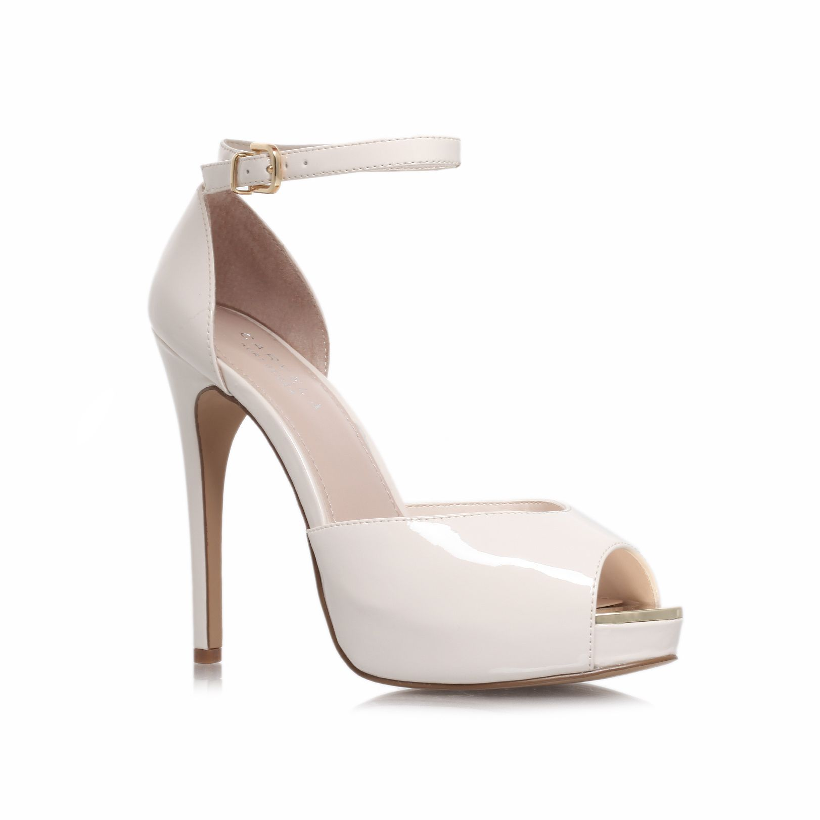 Gossip high heel platform court shoes