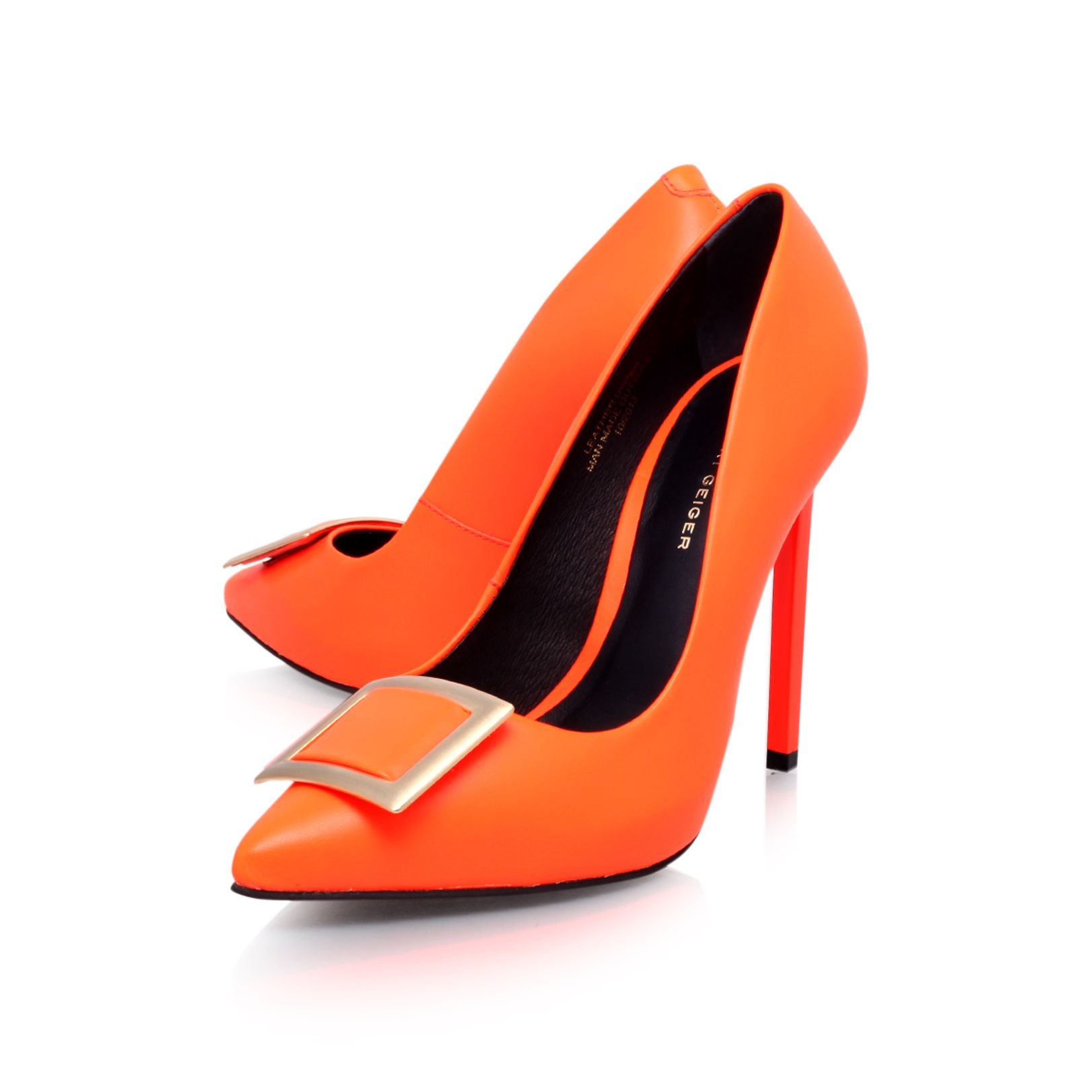Bryony high heel court shoes