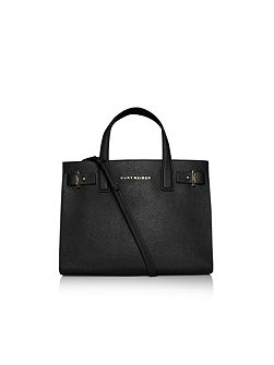Saffiano london tote handbag