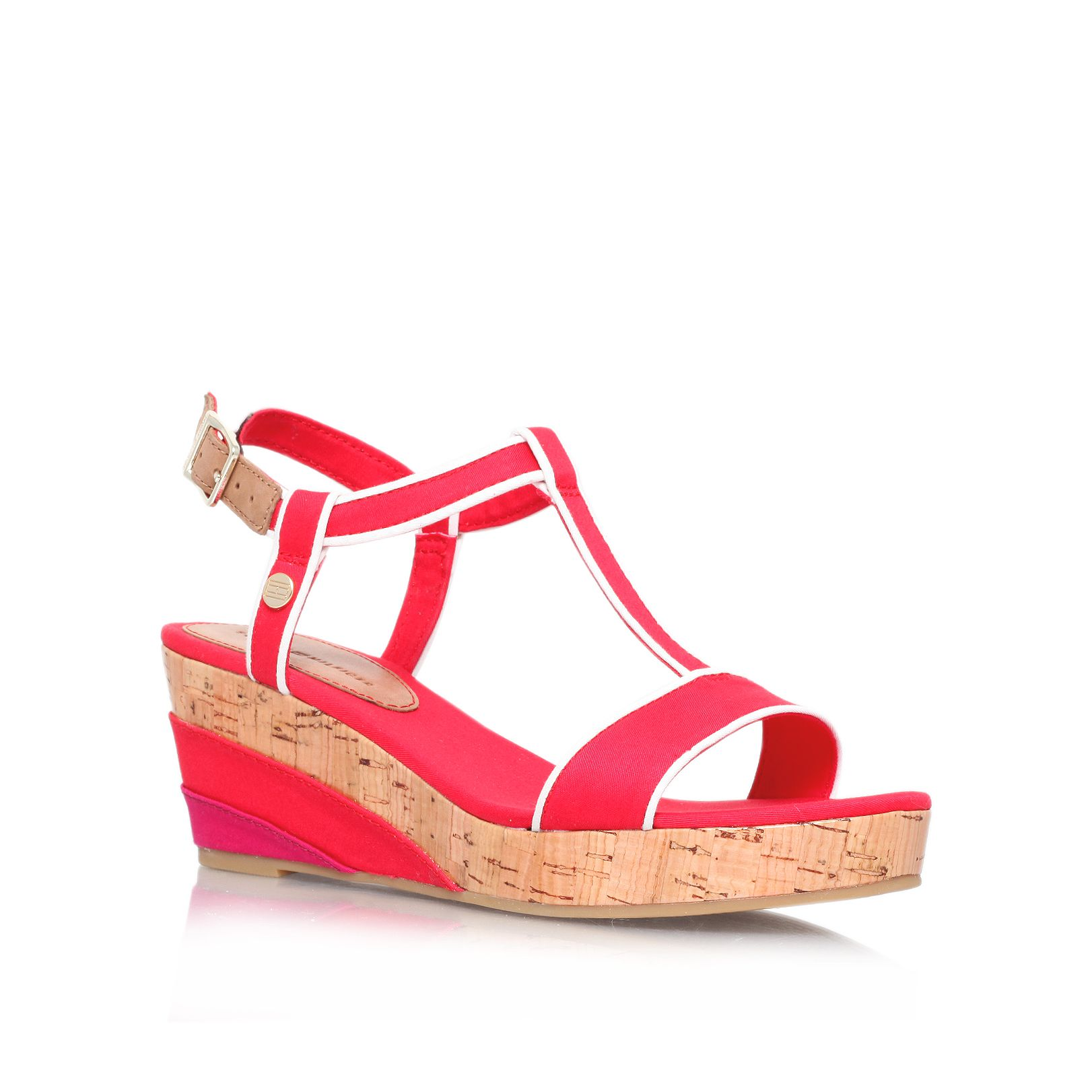 Elba3c mid heel wedges sandals