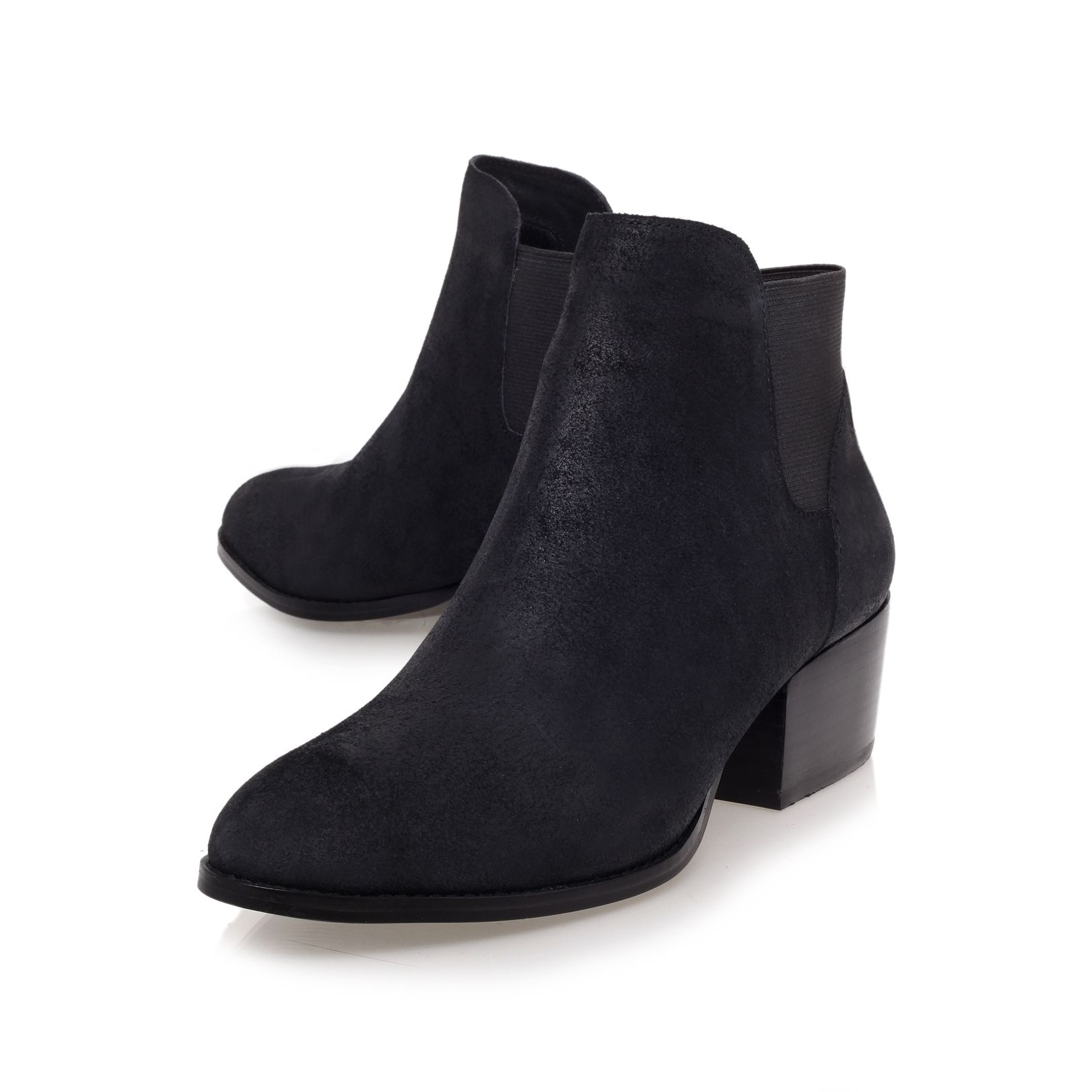 Scout low heel ankle boots