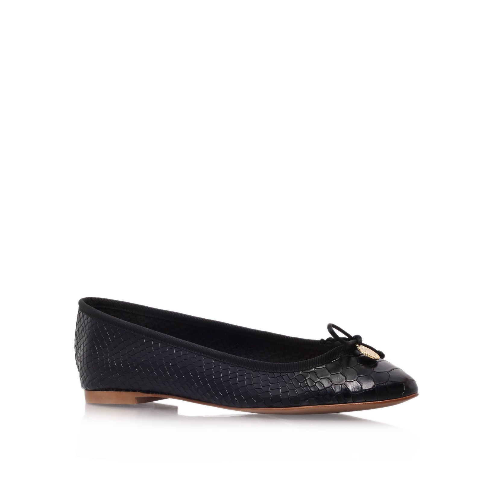 Lourdes leather ballet pumps
