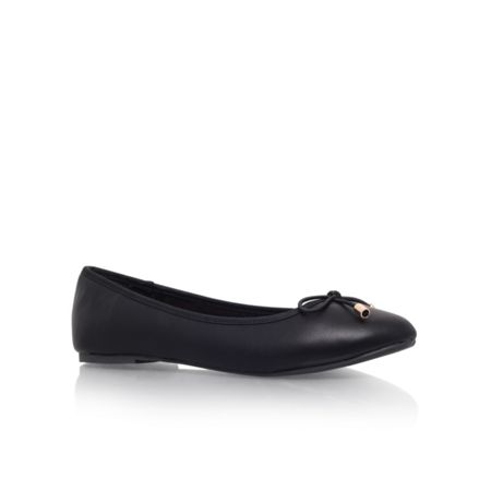Nel round toe flat ballerina shoes