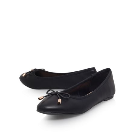 Miss KG Nel round toe flat ballerina shoes