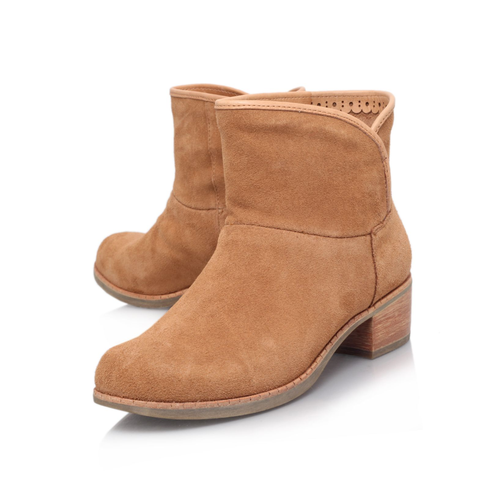 Darling low heel ankle boots