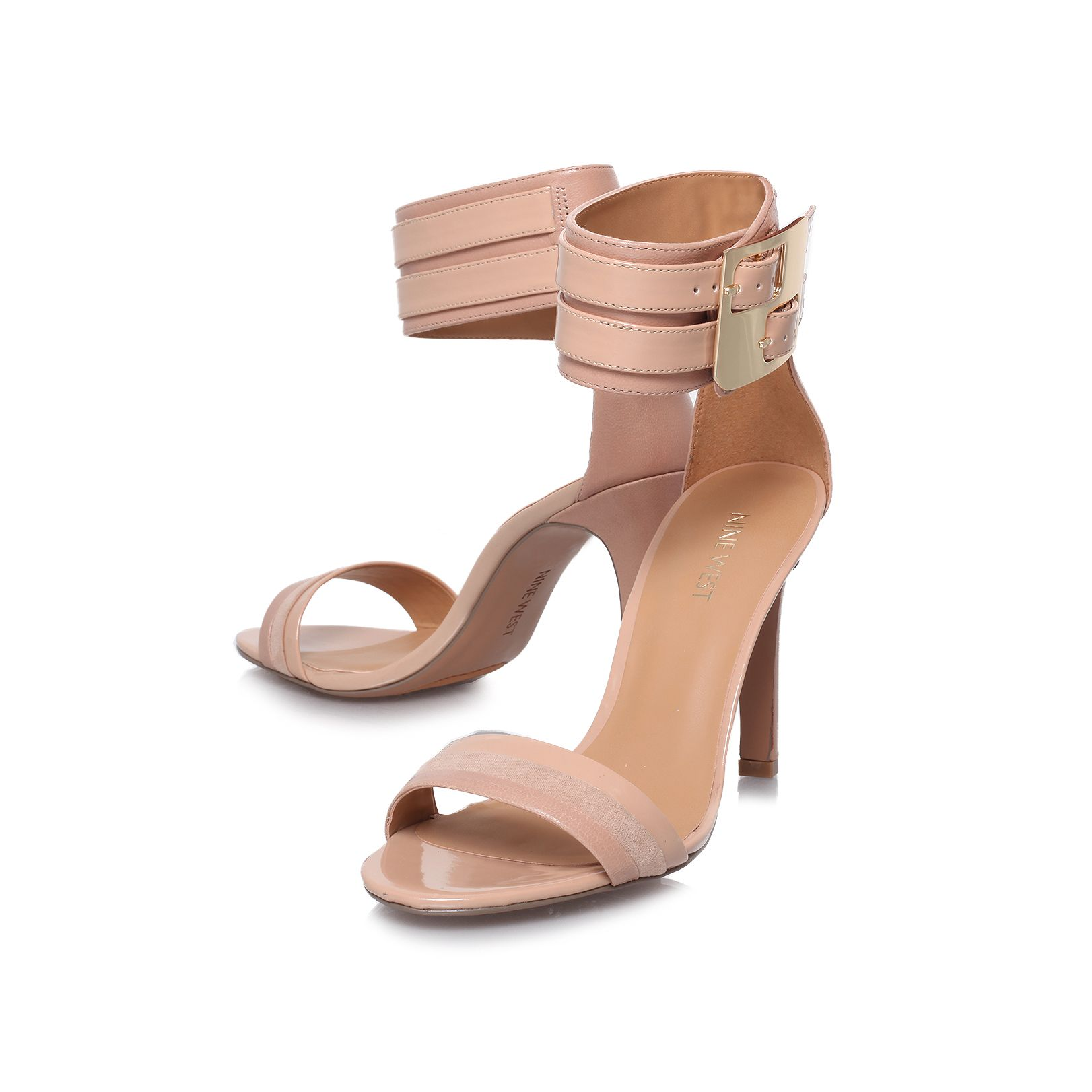 Estrilda high heeled court shoes