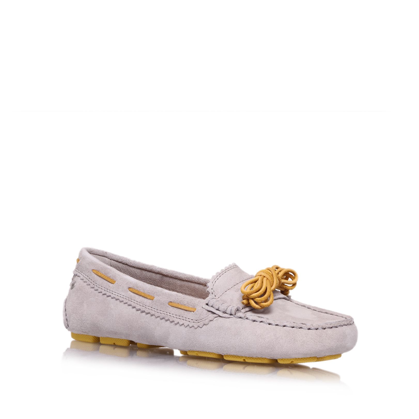 Meena fur lined moccasin slipper