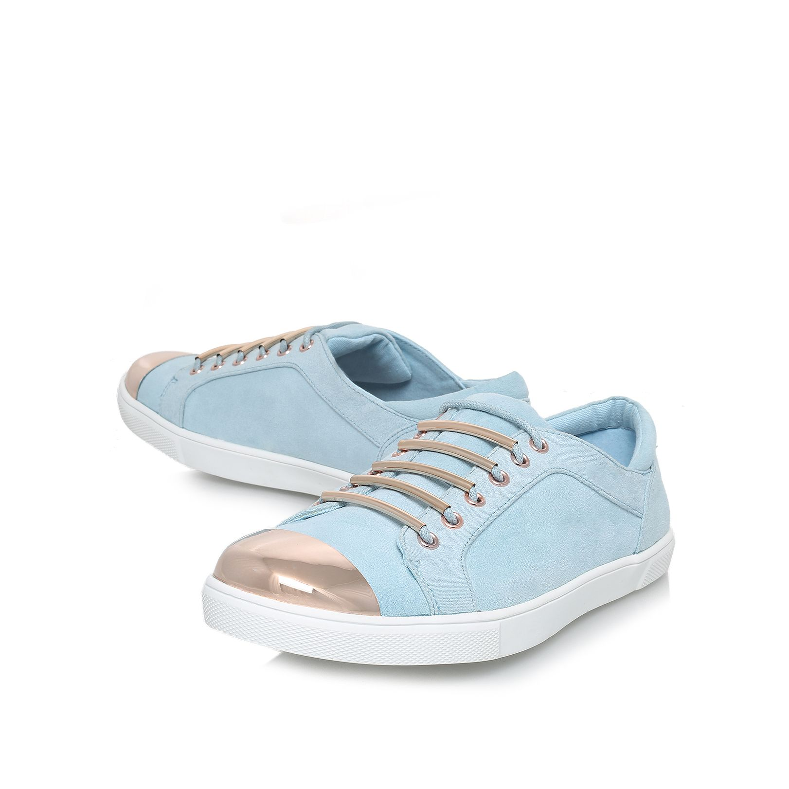 Lollipop flat low top trainers