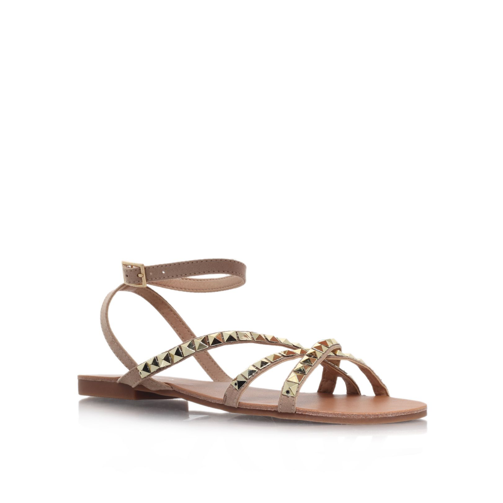 Bella flat embellished sandals