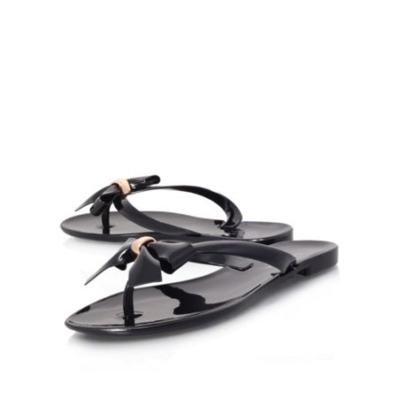 Carvela Star flat t-bar flip flops