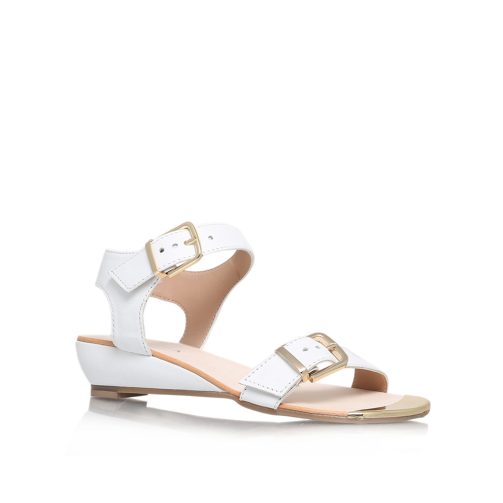 Kap low heel sandals