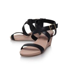 Kouple mid heel wedge sandals