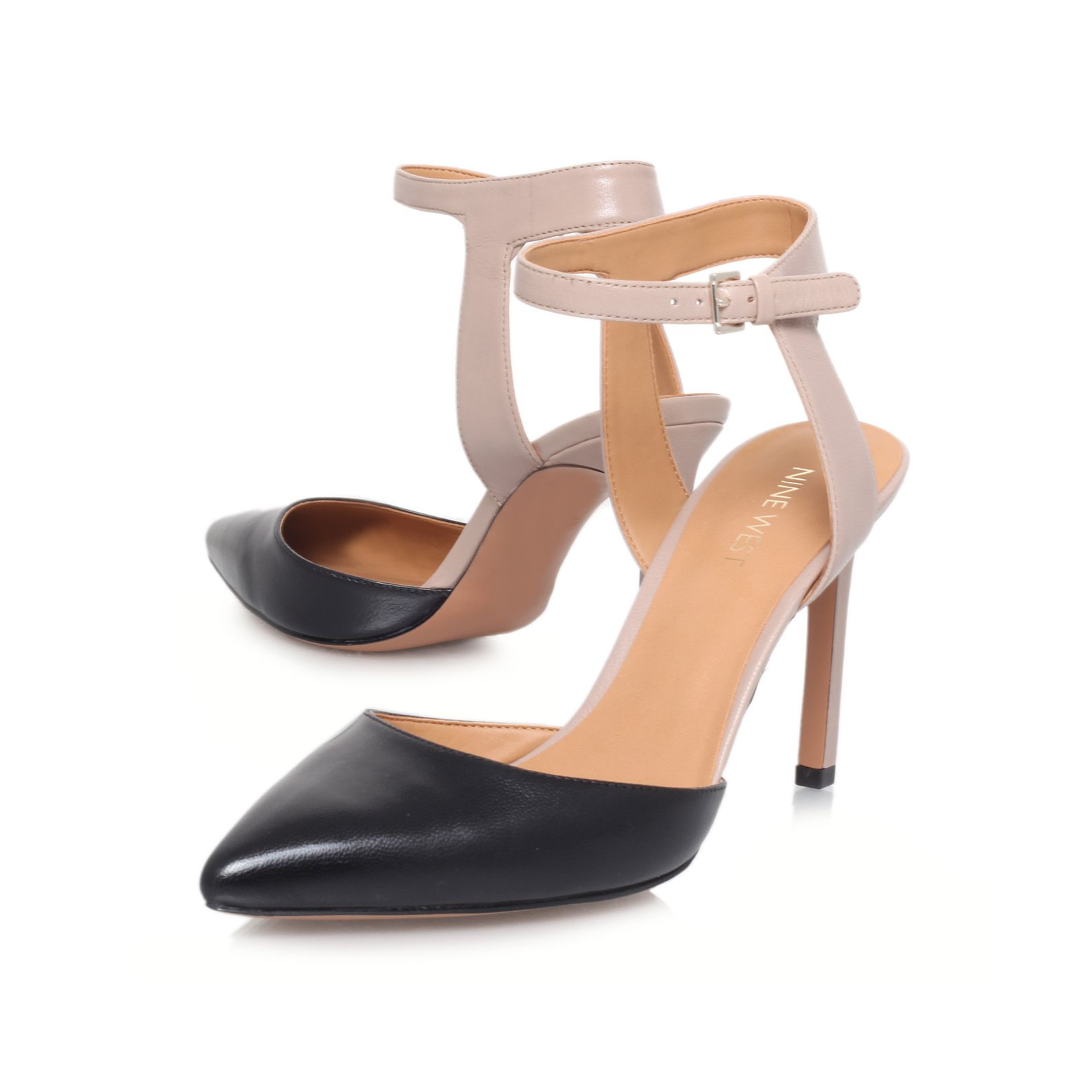 Capricious high heeled court shoes