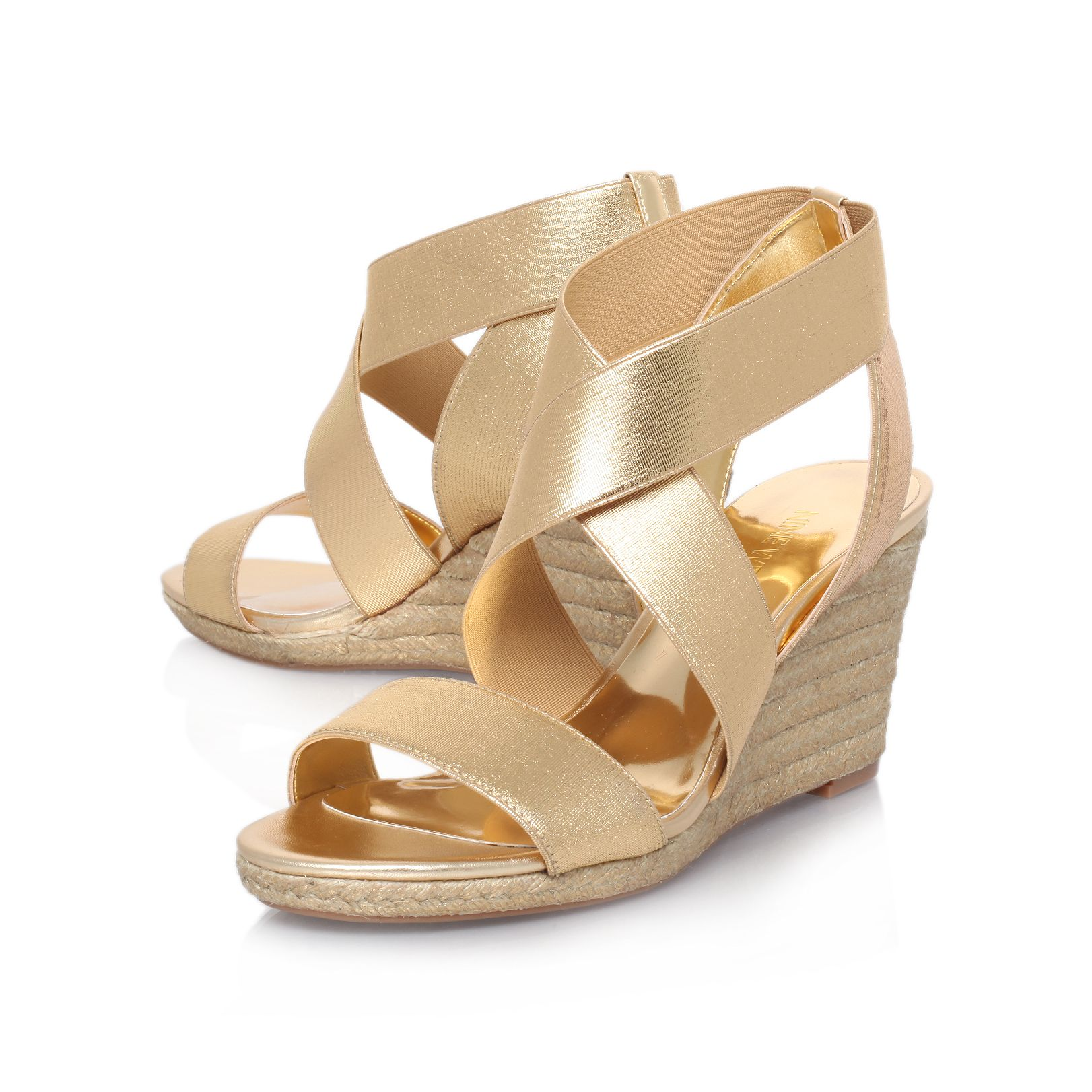 Juna2 strap wedge sandals