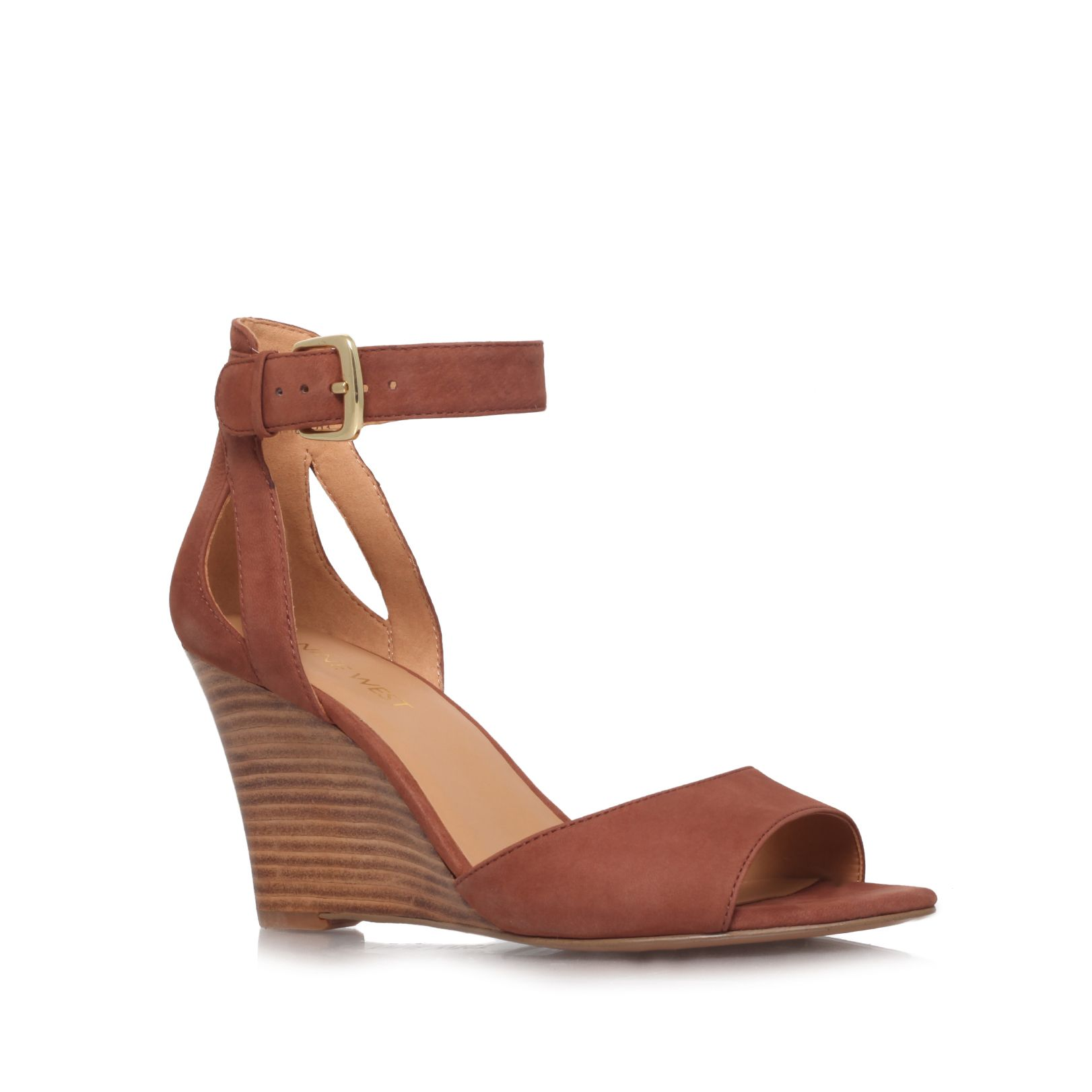 Floyd mid heel wedge sandals