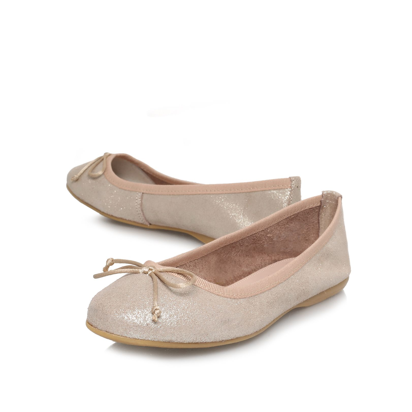 Languid flat ballerina shoes