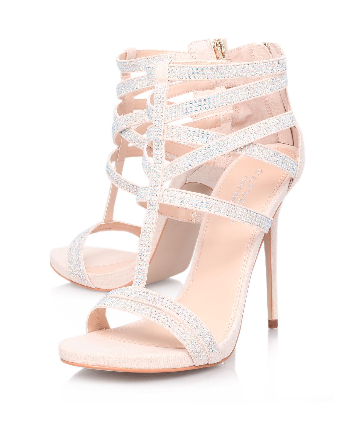 Glaze high heel sandals