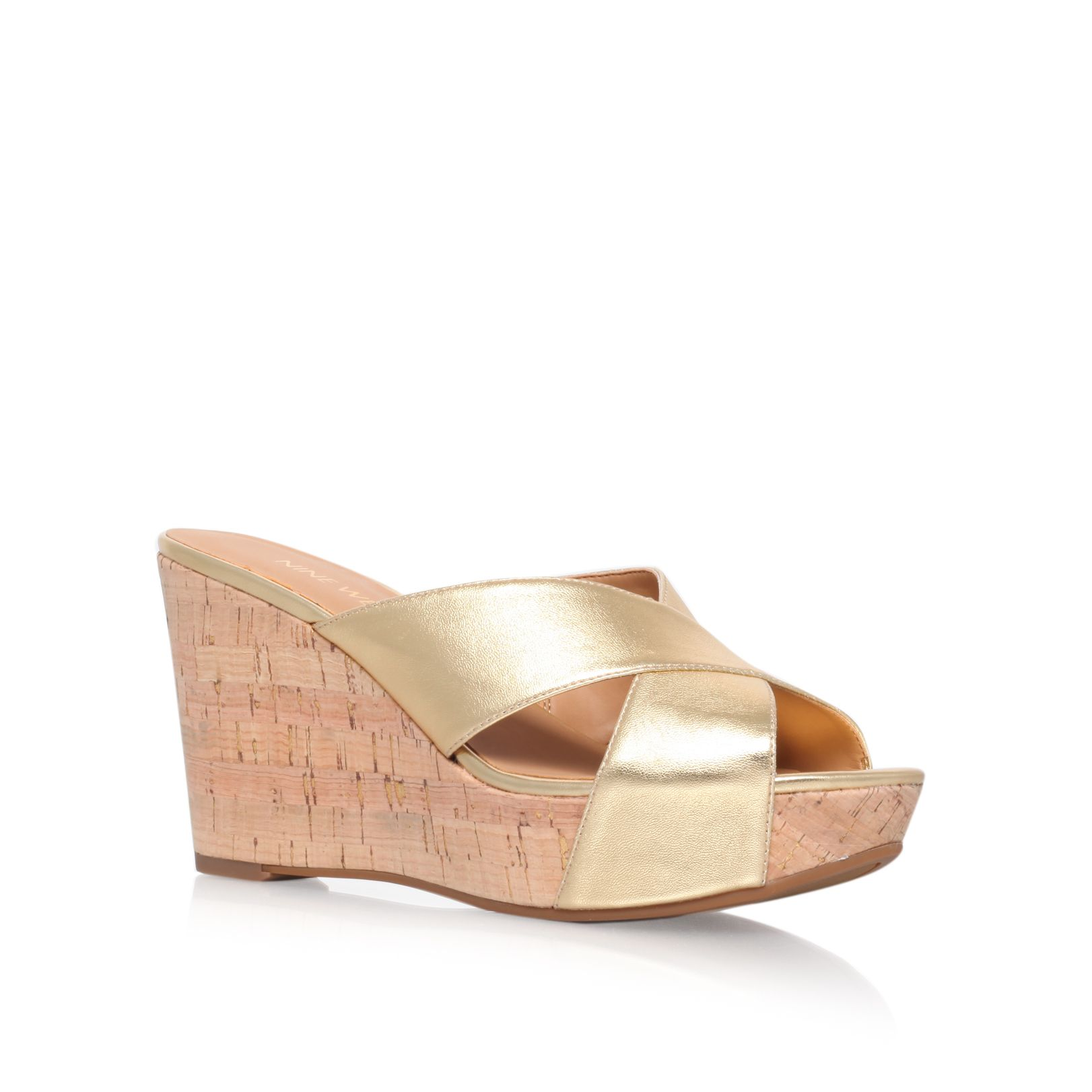 Etzamore high heeled wedge sandals
