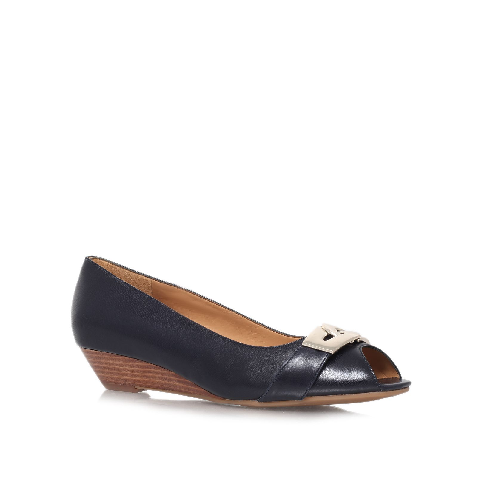 Maximilla low heeled court shoes