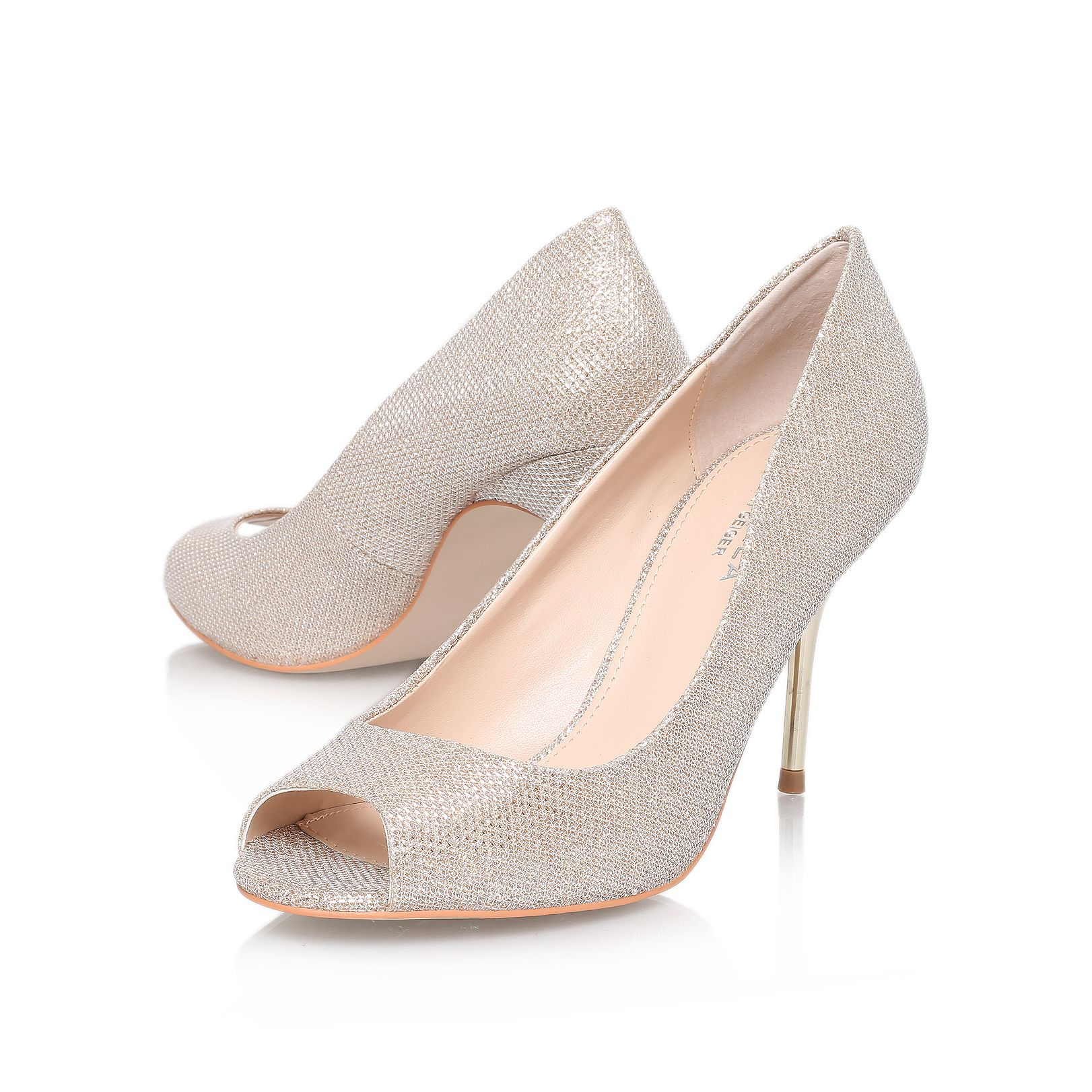 Geradine high heel court shoes