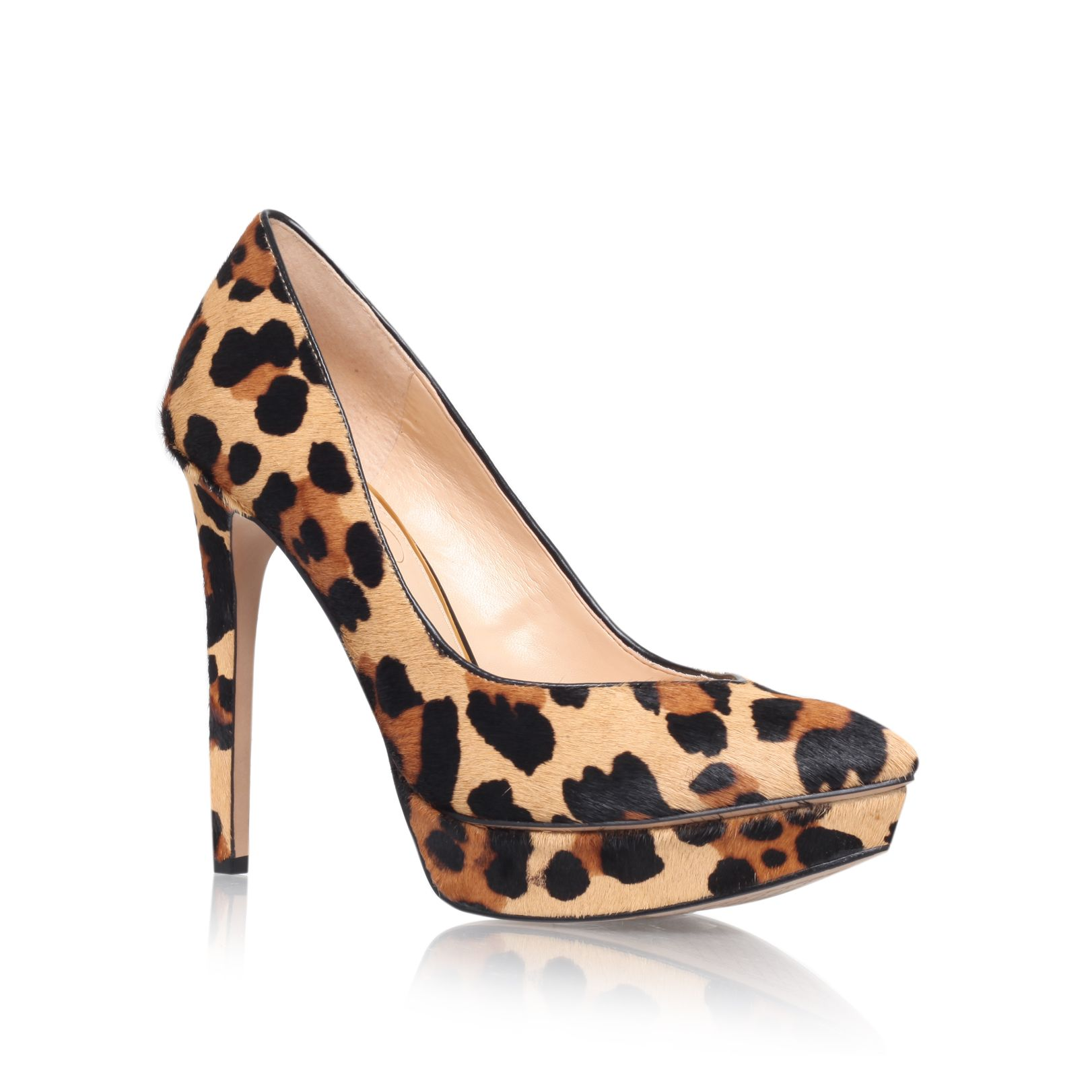 Venisse high heel court shoes