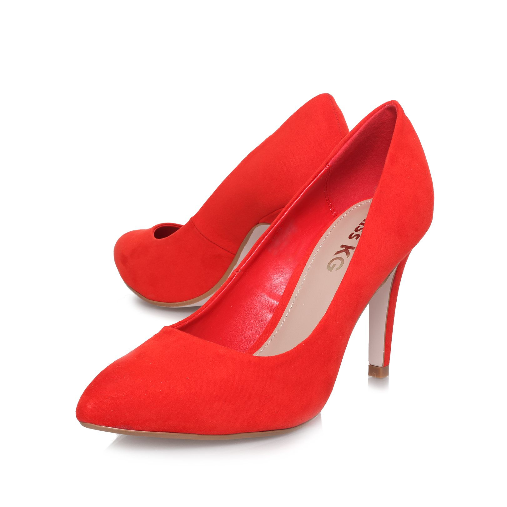 Clara high heel court shoes