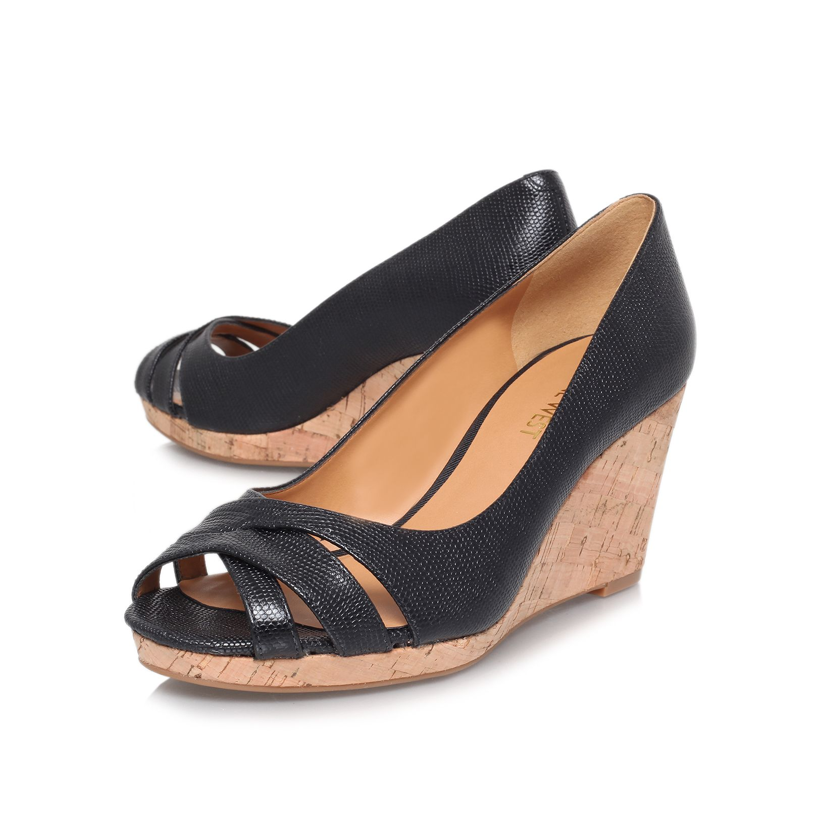 Jelica high wedged sandals