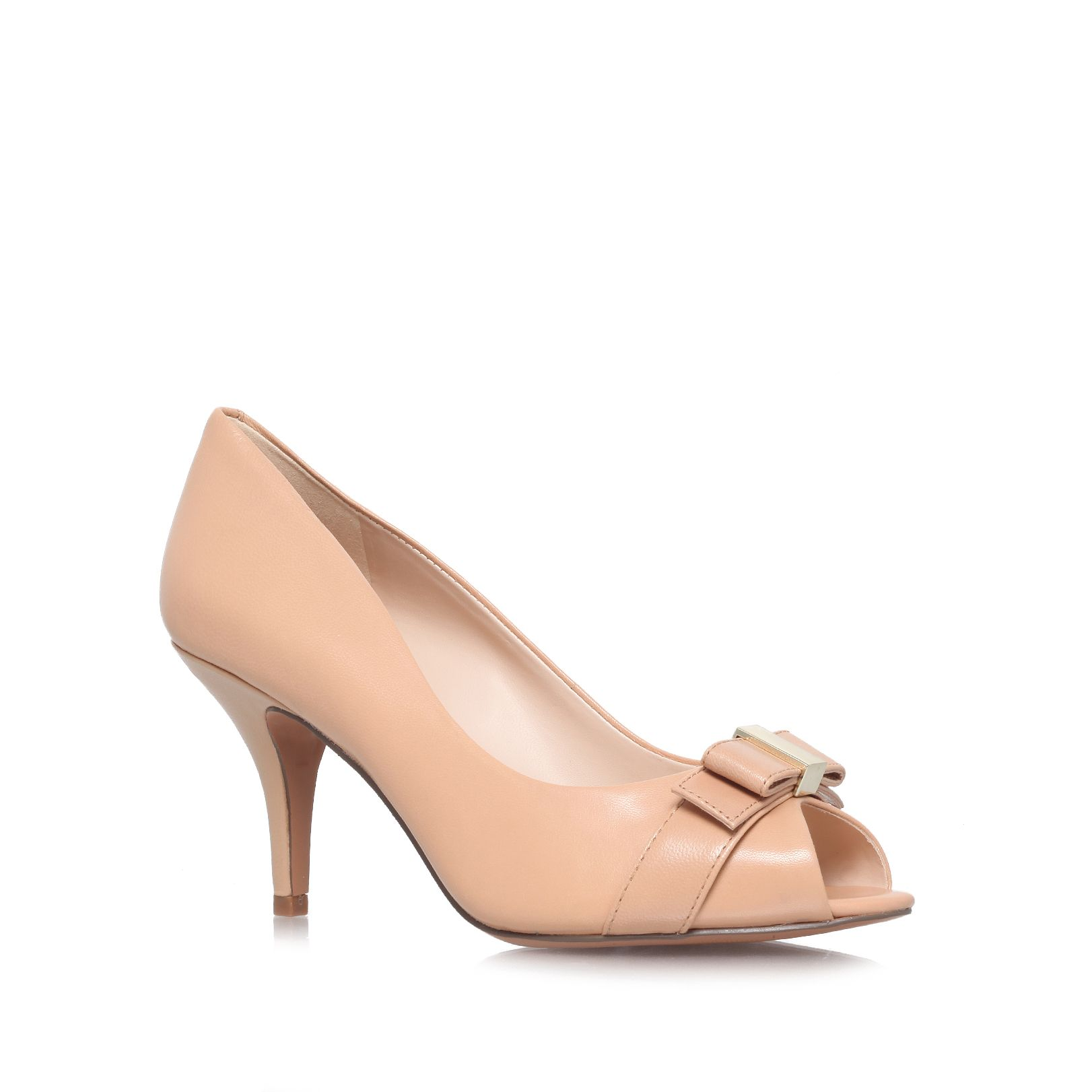 Olivia mid heel court shoes