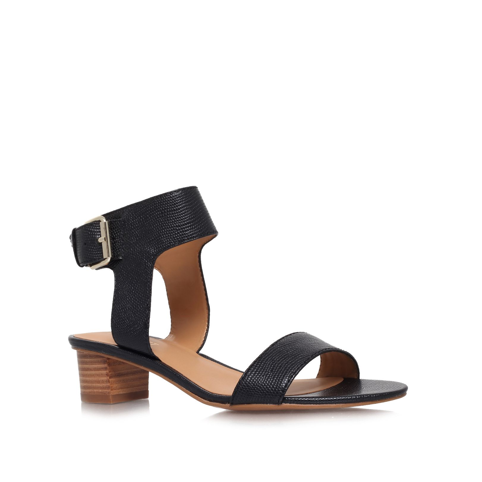 Tasha low heeled sandals