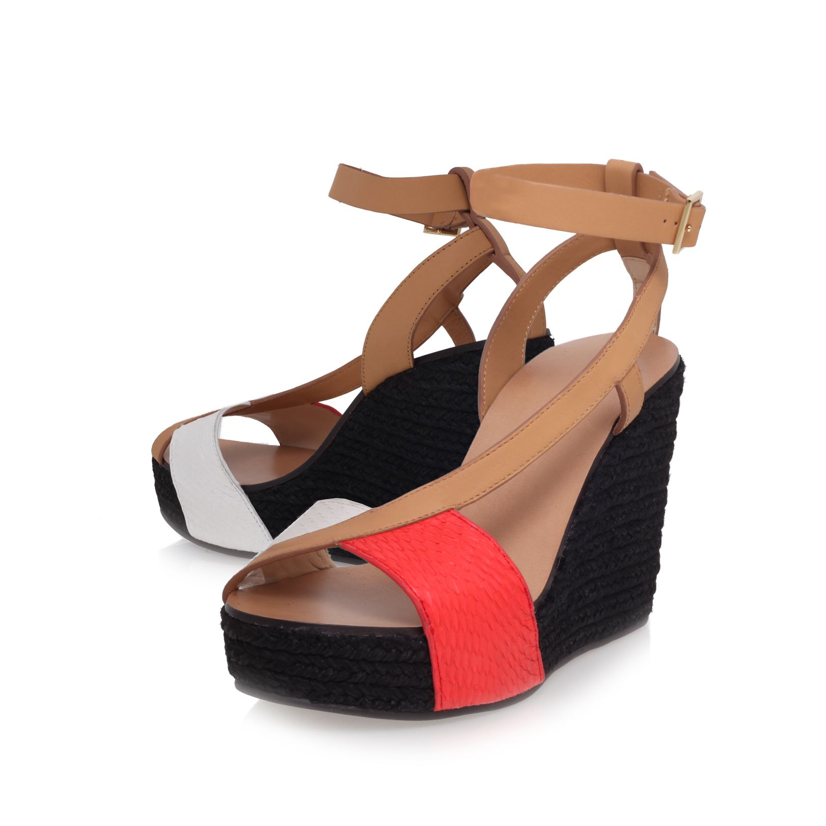 High heeled wedges