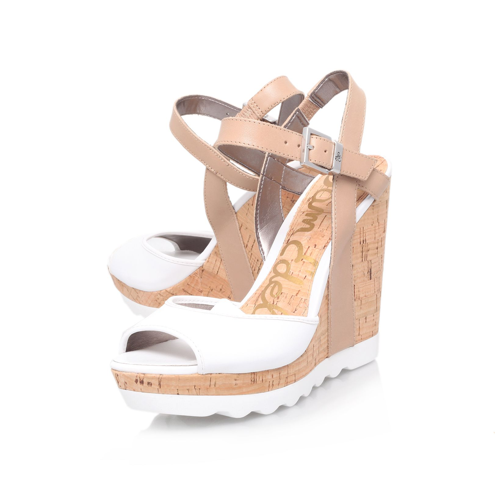 Karina wedge open to sandals