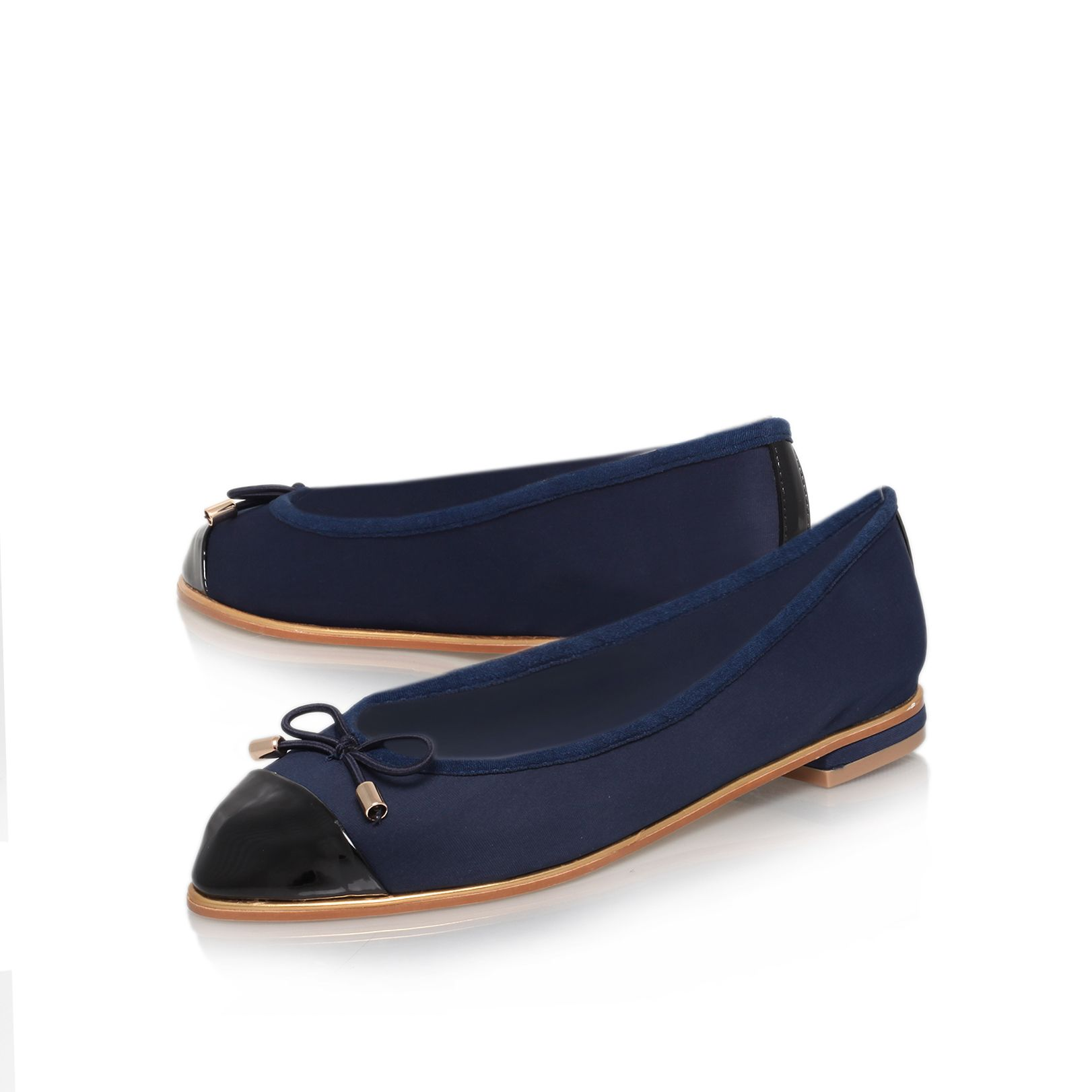 Lolly flat court shoes